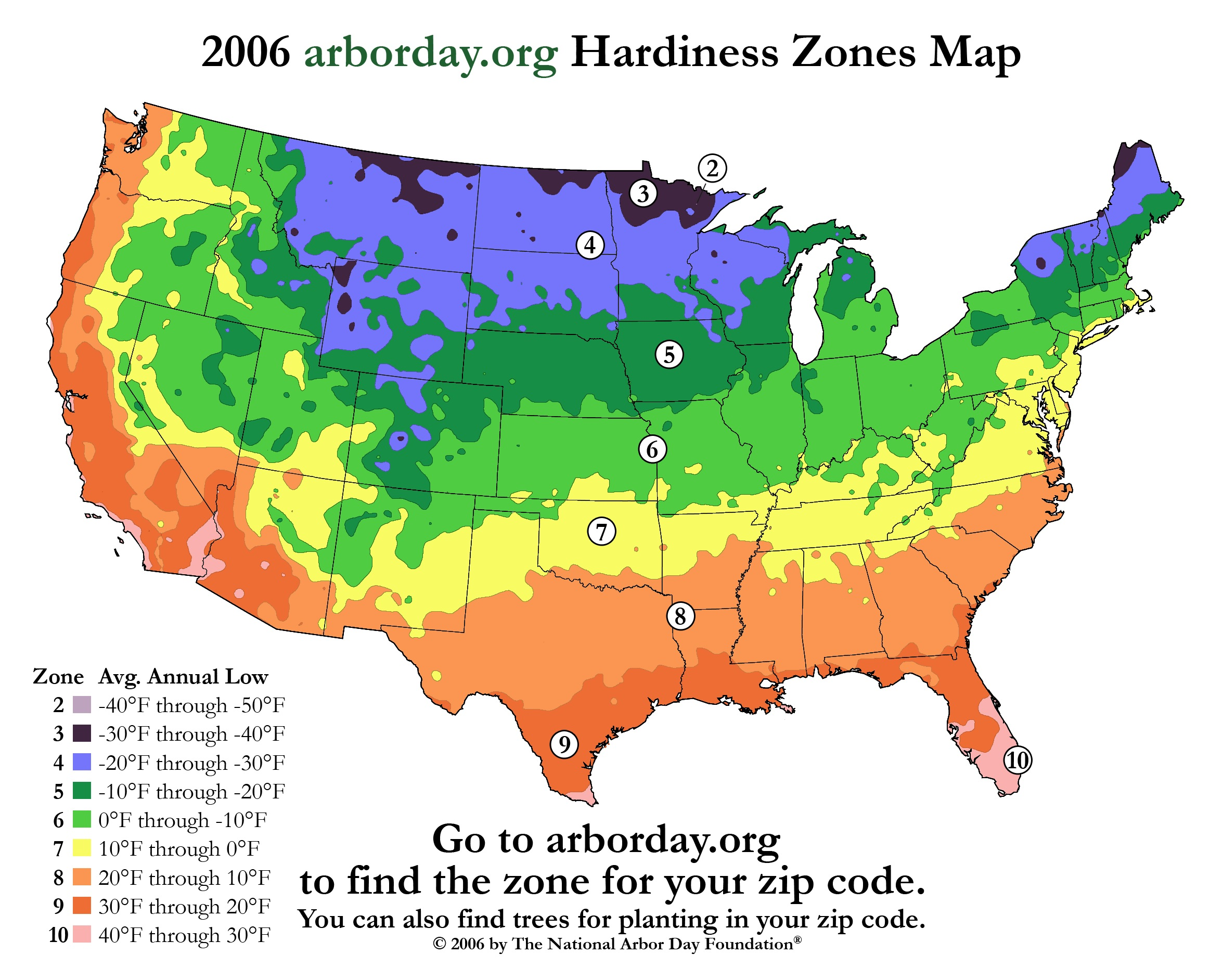 ... moved Northern Iowa from a solid 4 to a 5 on its hardiness zone map