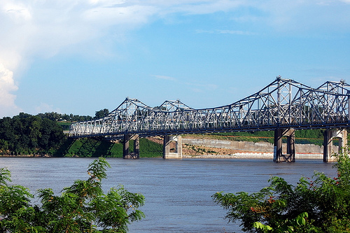 Mississippi River. Photo by christopherbarnette, Flickr.