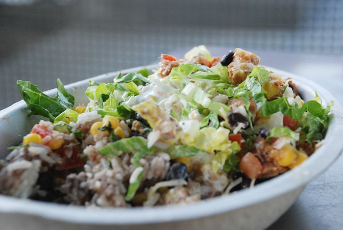 Chipotle burrito bowl. Photo by punctuated; Flickr
