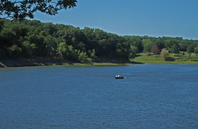 Coralville Lake. Photo by Alan Light; Flickr