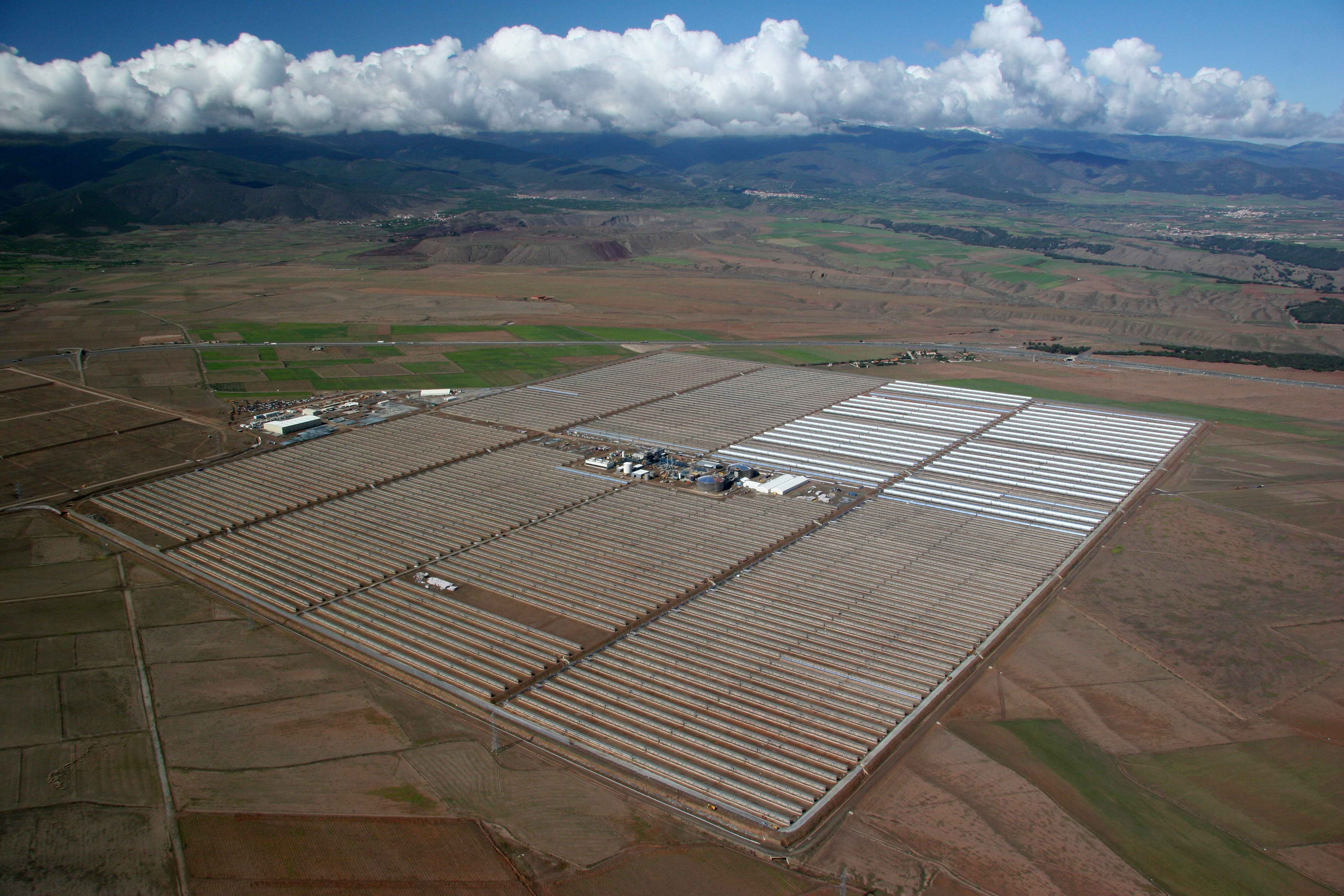Solar farm in Spain. (Wikipedia)