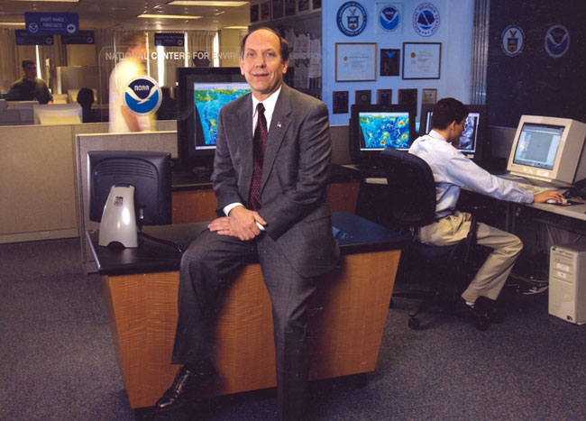 Dr. Louis W. Uccellini  earned his PhD in meteorology from the University of Wisconsin-Madison and has served as Director of the National Weather Service since 2013. (NOAA)