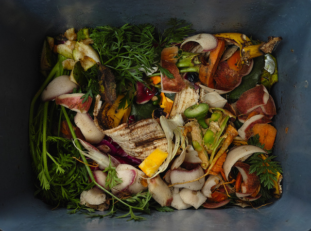 Composting is one way to reduce food waste. (szczel/Flickr)