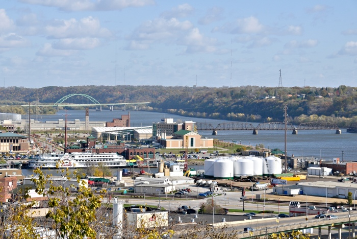 Dubuque has been declared a presidental disaster zone six times since 1999. (Wikimedia)