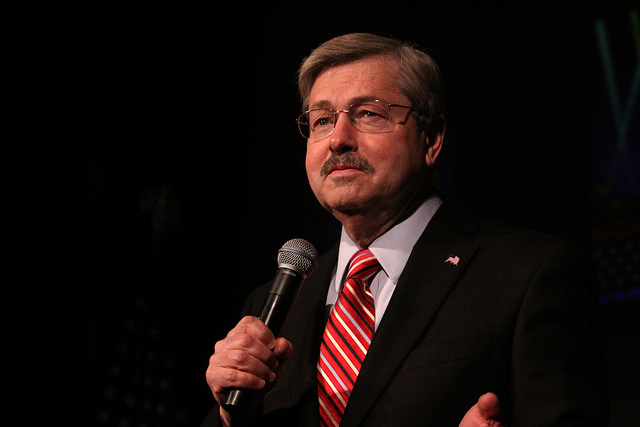 Iowa governor Terry Branstad at a 2011 event in Des Moines. (Flickr)