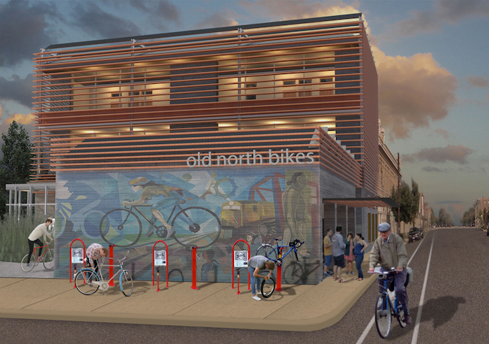 """""""Old North Bikes: Human Powered Revitalization in Old North St. Louis"""" by Stephen Danielson and Benjamin Kruse. (Iowa State University News Service)"""