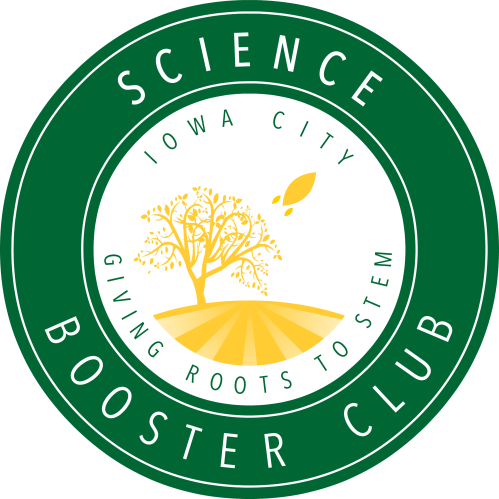 Science Booster Club - Iowa City - tshirt - V2 with Gradients