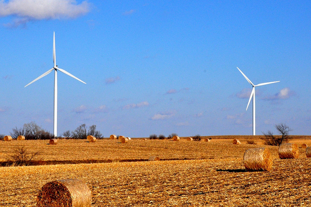 Wind turbines in New Hampton, Iowa (Theodore Scott/Flickr)