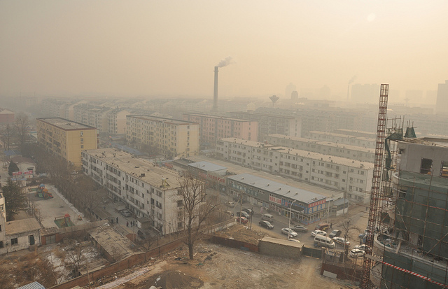China has the most air pollution fatalities worldwide at 1.4 million. (Chris Aston/Flickr)