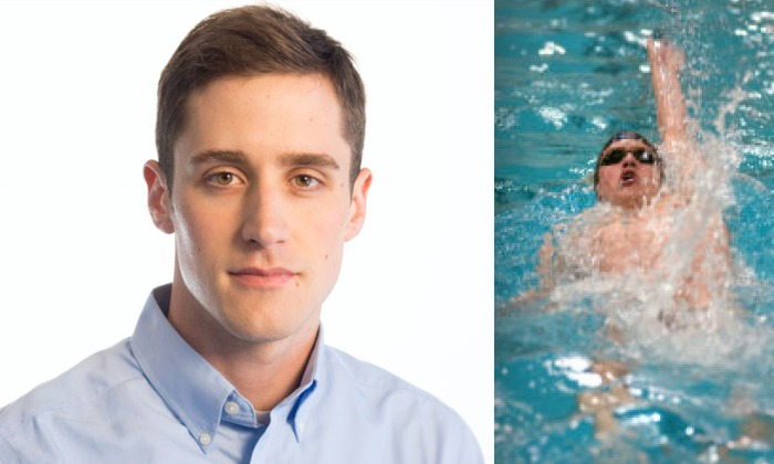 Andrej Lenert, Postdoctoral scholar at the University of Michigan and former UI swim team athlete.