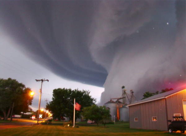 A 2008 tornado in Iowa (Alberto Garrido/Creative Commons)