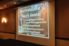 The Bur Oak Land Trust is a local non-profit that accepts land donations from landowners looking to permanently protect natural areas. (Jenna Ladd/CGRER)