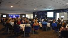 About 170 people registered for the one-and-a-half day symposium.
