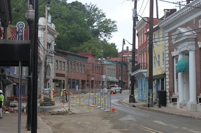 Ellicott City Flood Recovery, Frederick Rd.